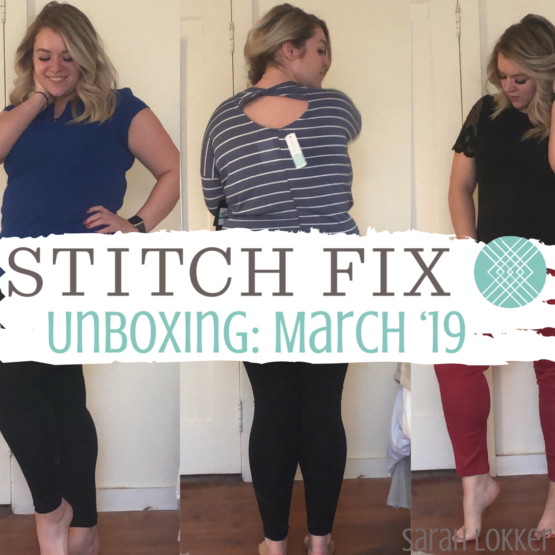 ac5ea7e80b4 stitch fix unboxing: march '19 | life with sarah